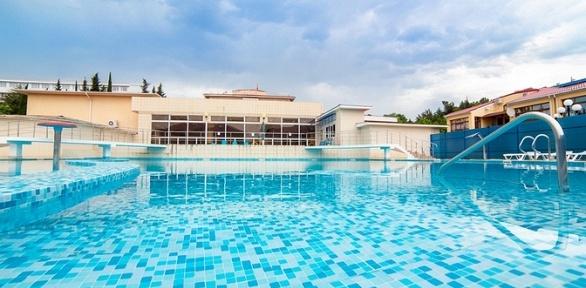 Отдых вСочи спитанием ипосещением бассейна всанатории «С.С.С.Р»