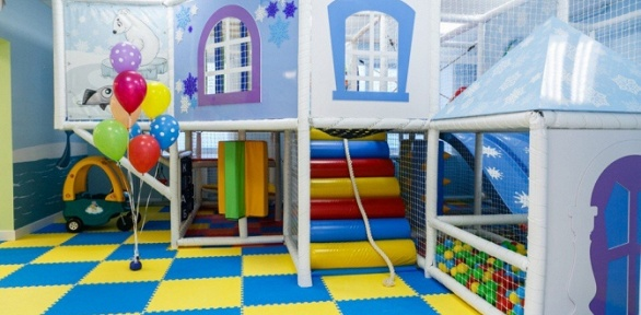 Посещение детской игровой комнаты «Страна чудес»