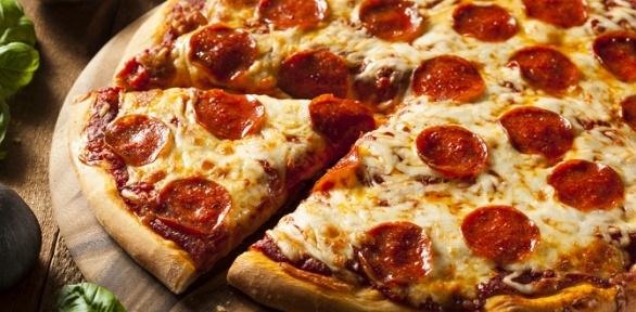 Всё меню отслужбы доставки Pratto Pizza заполцены