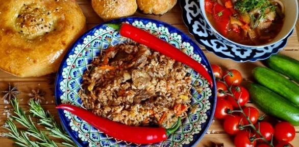 Блюда инапитки вкафе «Чайхана Байрам» заполцены