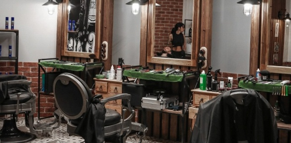 Мужская стрижка, коррекция бороды вбарбершопе Legion