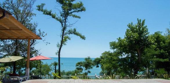 Отдых вНовом Афоне наберегу Чёрного моря для компании навилле «Афон»