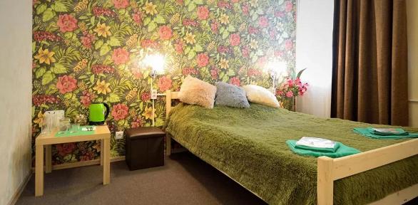 Отдых всемейном номере вгостевом доме Nice
