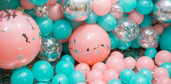 Гелиевые шары, композиции изшаров, набор для выписки изроддома