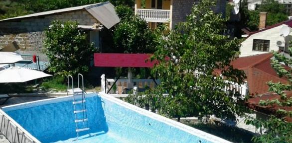 Отдых вКрыму спитанием ипосещением бассейна впансионате «Штиль»