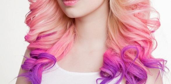 Стрижка, укладка, окрашивание или лечение волос всалоне красоты Happy