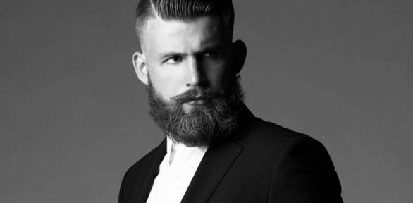 Мужская стрижка, моделирование бороды вбарбершопе «Тусилoff»