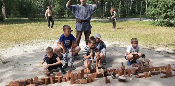 Участие висторическом сражении откомпании «Русские забавы»