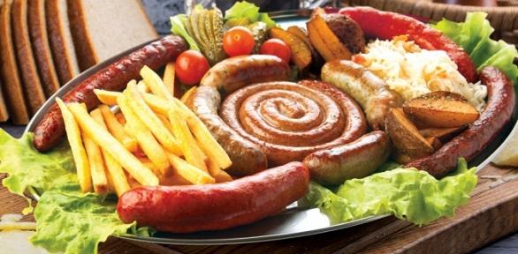Блюда инапитки навыбор вресторане Grossbeer заполцены