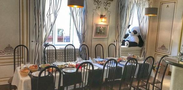 Всё меню инапитки вкафе Little Panda Cafe заполцены