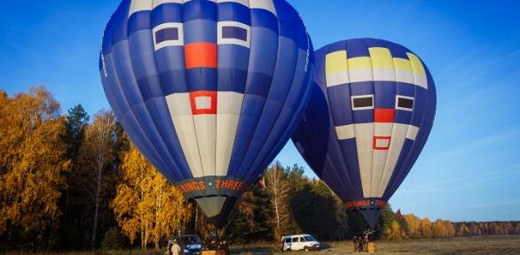 Полет навоздушном шаре свручением именной грамоты откоманды «Три короля»