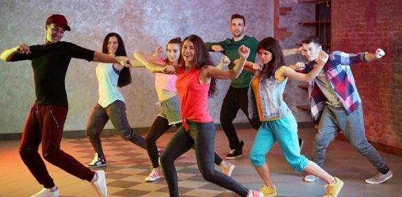 Занятия танцами встудии Promodance