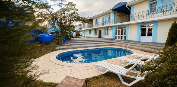 Отдых вКрыму спосещением сауны, бассейна вмини-отеле Gostinyi Domik