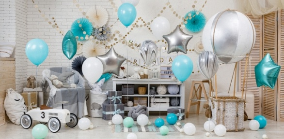 Гелиевые, фольгированные шары, композиции изшаров