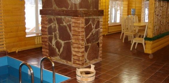 Посещение русской бани вклубе «Русская усадьба»