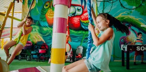 День посещения игровой площадки отцентра Jungle Kids