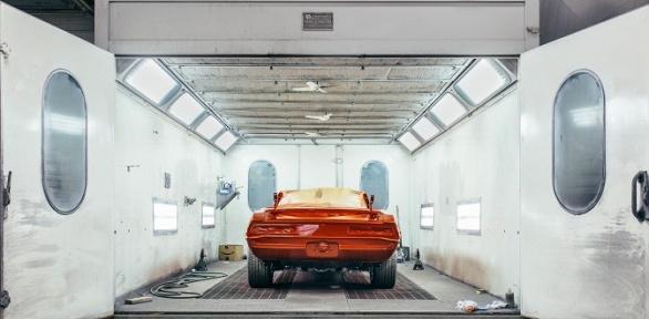 Покраска деталей кузова автомобиля вавтосервисе Bodycar