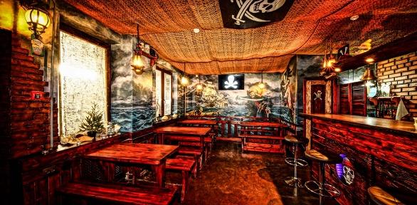 Вечер снапитком иугощениями вгриль-баре «Адмирал Бенбоу»