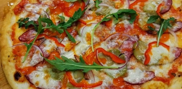 Пицца-сет из3или 5кругов пицц откафе «Крутон»