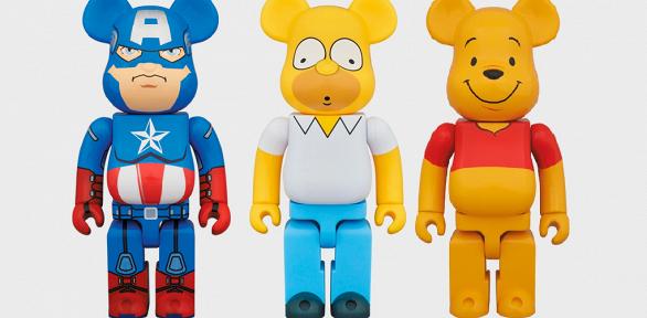 Дизайнерская игрушка Bearbrick навыбор