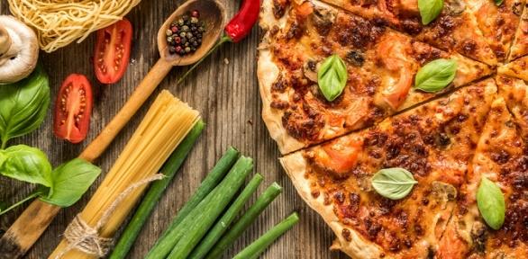 Пицца навыбор откафе доставки «Кок» заполцены