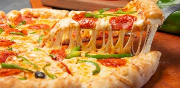 Пицца отслужбы доставки Sempre Pizza заполцены