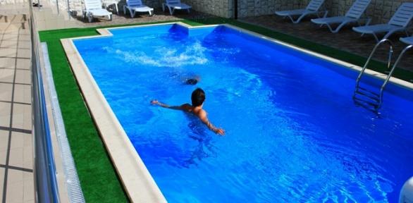 Отдых вцентре Алушты спосещением бассейна вгостинице Park Hotel Praha