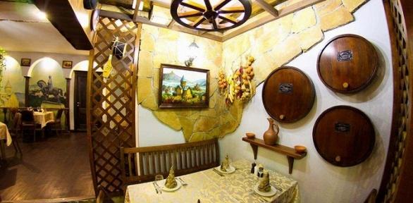 Ужин вресторане грузинской кухни «Тифлис»