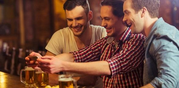 Пенная или паровая вечеринка вбаре «Бъерн»