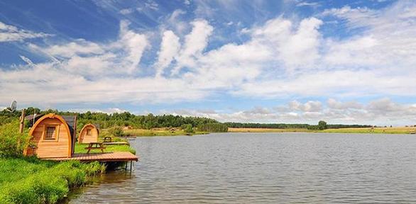 Отдых наЛьвовских озерах для двоих нарыболовной базе отдыха «Львово»