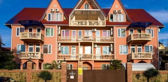 Отдых побережье Черного моря вмини-отеле «Вилла замок»
