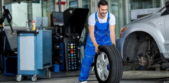 Замена ибалансировка колес вавтосервисе «Рекорд моторс»