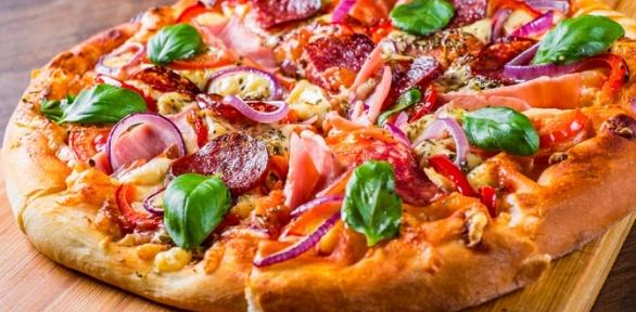 Пицца без ограничения суммы чека отпиццерии Pizza Verona за полцены