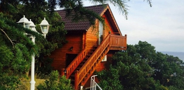 Отдых вКрыму наберегу Черного моря вотеле «Вилла Форос»