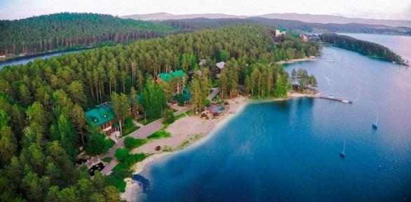 Отдых натерритории клуб-отеля «Золотой пляж» вотеле «Тургояк-Сити»