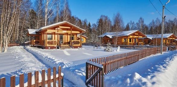 3, 7или 30 суток аренды одного из 12 коттеджей от комплекса «Лесные озера»