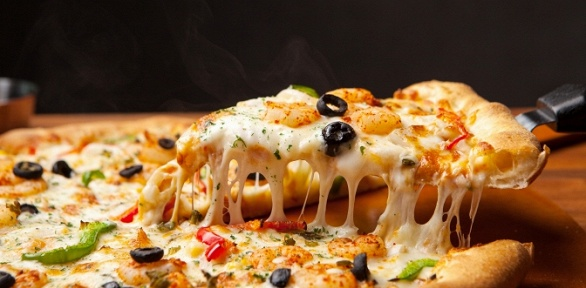 Пицца отпиццерии Fantasy Pizza заполцены