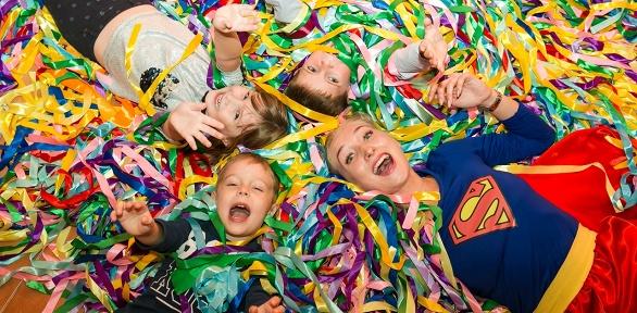 Проведение детского праздника с анимационным шоу от агентства «Кактус»