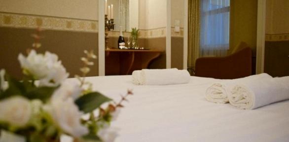 Отдых cсауной иджакузи вцентре Санкт-Петербурга вSPA-отеле «Империя»
