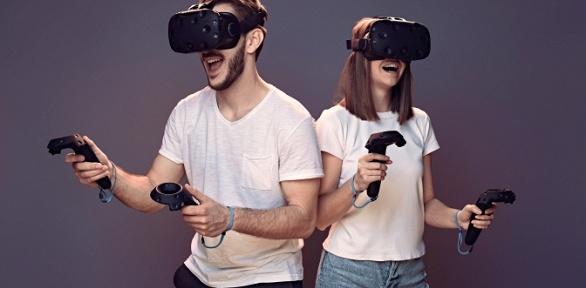 60минут игры вклубе виртуальной реальности Reality