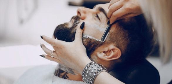 Мужская, детская стрижка, бритье вбарбершопе MadMan
