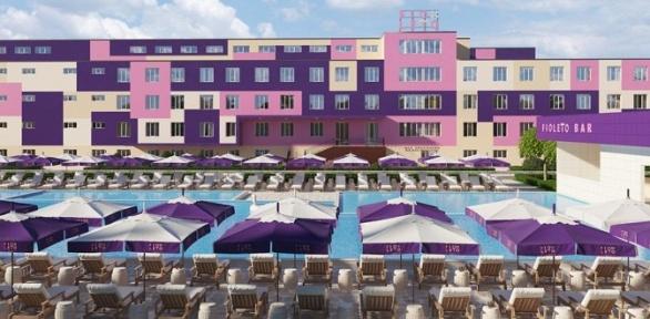 Отдых до 3 человек вАнапе вотеле Fioleto All Inclusive Family Resort
