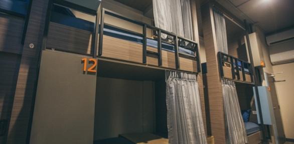 Отдых для одного или двоих вкапсульном отеле Cube Capsule Hotels