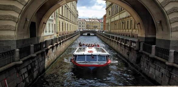 Дневная или ночная экскурсия откомпании «Речной трамвай Санкт-Петербурга»