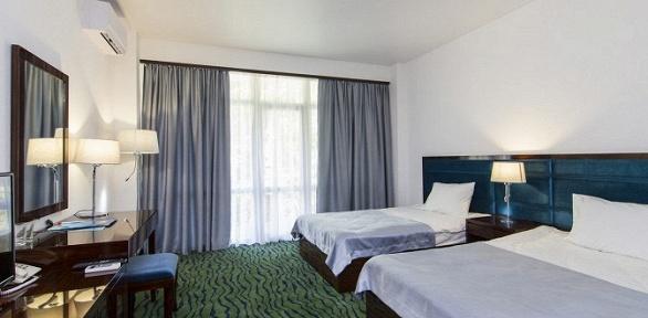 Отдых вАбхазии для двоих сзавтраками вотеле Sunrise Garden Hotel
