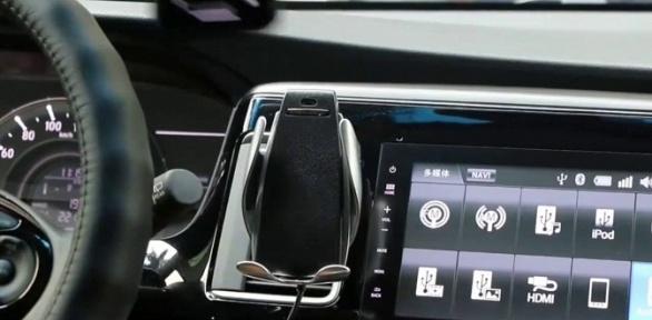 Держатель для смартфона сфункцией зарядного устройства Cosmo Plus