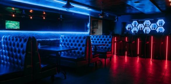 Меню кухни вбаре Leningrad Bar &Karaoke заполцены
