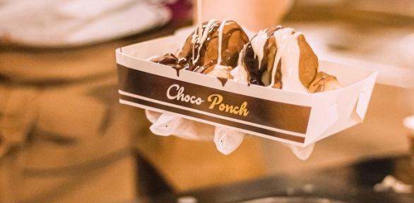 Турецкие пончики инапитки вкафетерии ChocoPonch