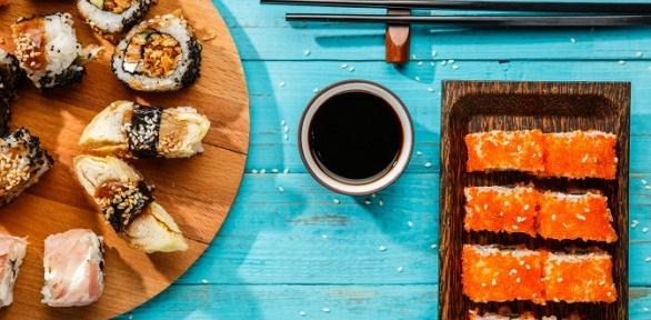 Суши-сет отслужбы доставки «Медуза суши»