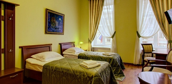 Отдых наНевском проспекте вклубном отеле «Питерская»